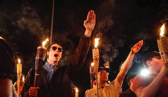 tiki torch nazis